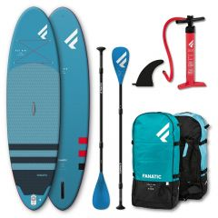 SET FANATIC 10'4'' FLY AIR  PURE & PURE 3-PIECE PADDLE 2021