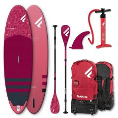 SET FANATIC DIAMOND AIR 10'4'' & DIAMOND 35 3-PIECE PADDLE 2021