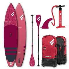 SET FANATIC 11'6'' DIAMOND AIR  & DIAMOND 35 3-PIECE PADDLE 2021
