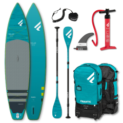 "SET FANATIC 13'0"" x 30"" RAY AIR ENDURO PREMIUM & CARBON 35 3-PIECE PADDLE 2021"