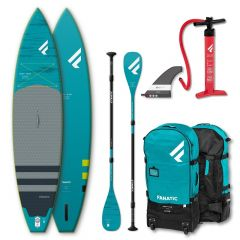 SET FANATIC 12'6'' RAY AIR PREMIUM  & Carbon 35 3-PIECE PADDLE 2021