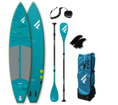 SET FANATIC 11'6 RAY AIR POCKET & CARBON 35  3-PIECE PADDLE 2021